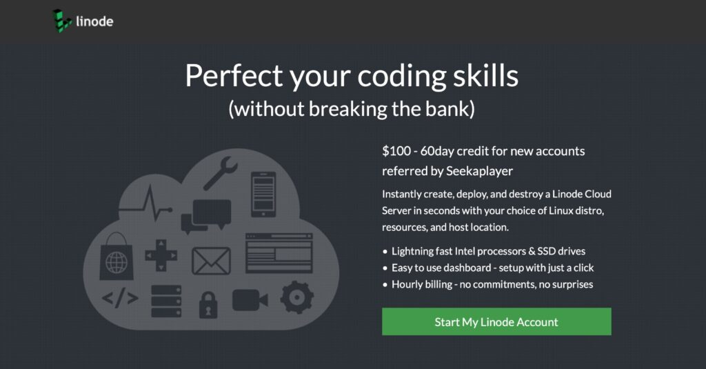 Linode Coupon $100 Free Credit for New Accounts
